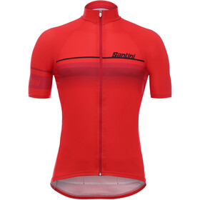 Santini Mare Maillot de cyclisme Homme, red